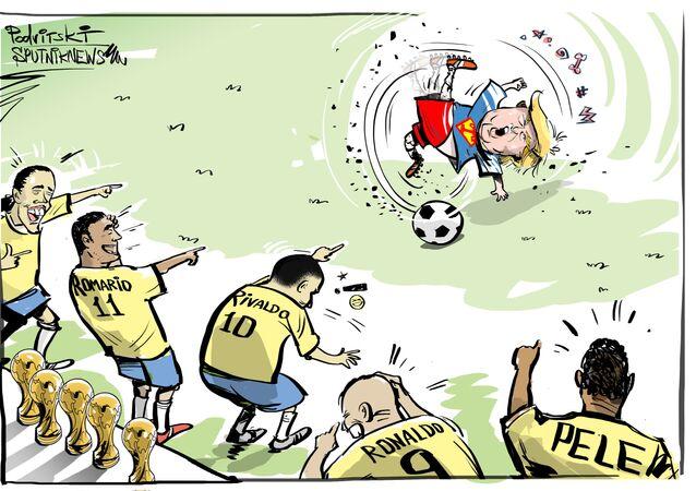 Tite odpověděl Trumpovi za Brazílii