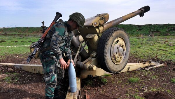 Syrský voják - Sputnik Česká republika