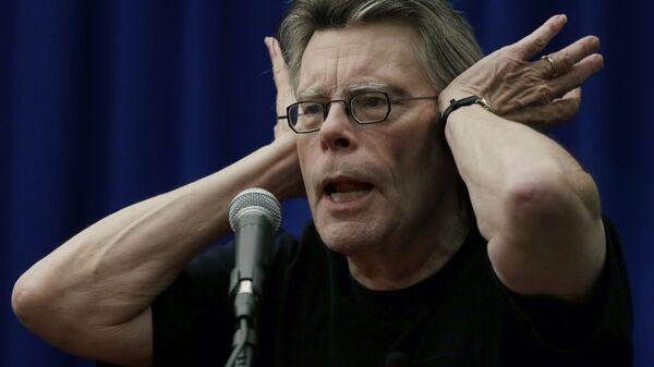 Americký spisovatel Stephen King - Sputnik Česká republika