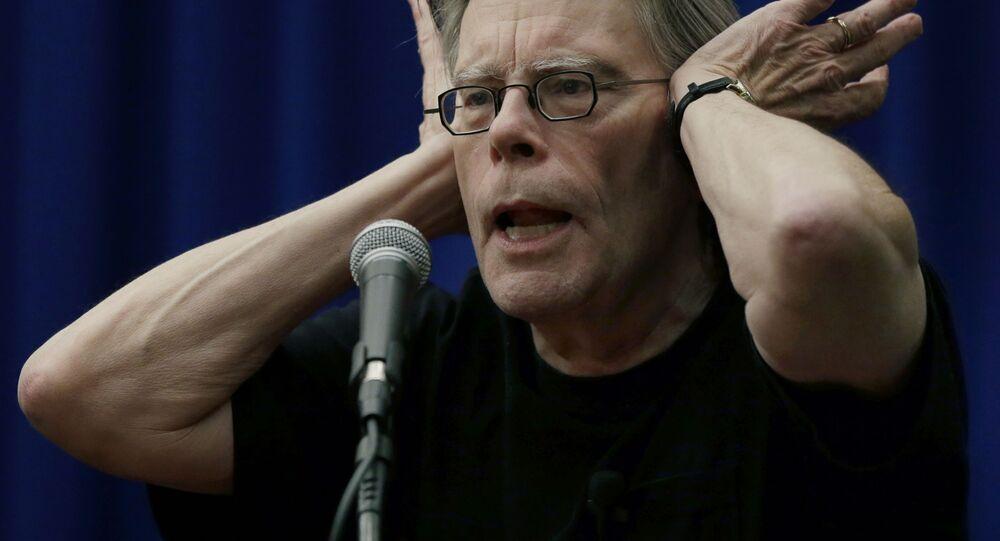 Americký spisovatel Stephen King