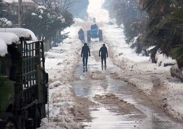 Provincie Idlib v Sýrii