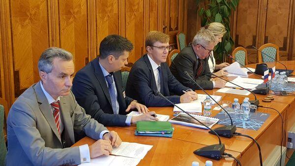 Zasedání pracovní skupiny pro spolupráci v oblasti energetiky Ruska a Česka - Sputnik Česká republika