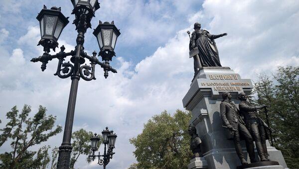 Pomník Kateřiny II. v Simferopolu - Sputnik Česká republika