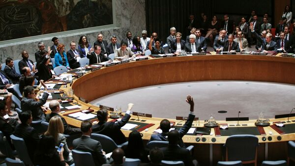 Hlasování o MH17 v OSN - Sputnik Česká republika