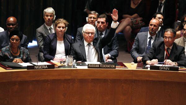 Velvyslanec Ruska při OSN Vitalij Čurkin - Sputnik Česká republika