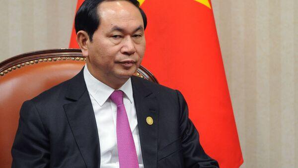 Vietnamský prezident Trần Đại Quang - Sputnik Česká republika