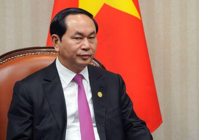 Vietnamský prezident Trần Đại Quang