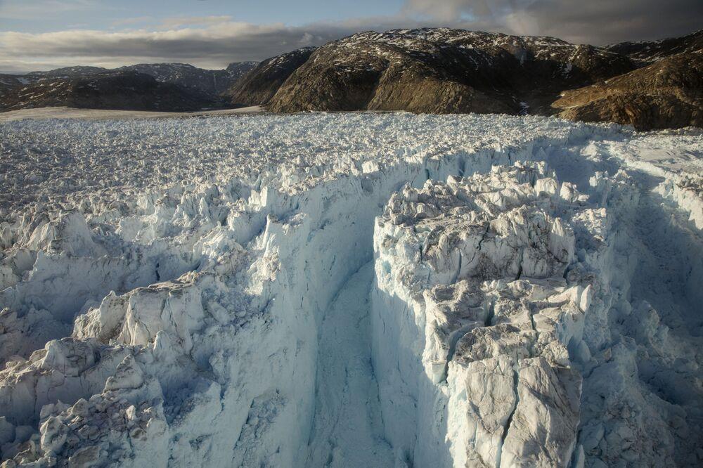 Klimatický útok na Grónsko: Kvůli klimatickým změnám katastroficky tají ledovce