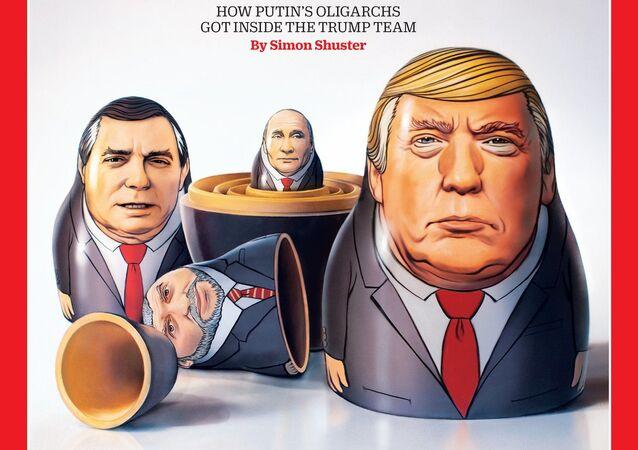 obálka říjnového čísla časopisu Time