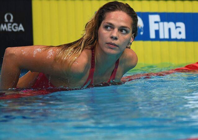 Sportovkyně Julia Jefimovová