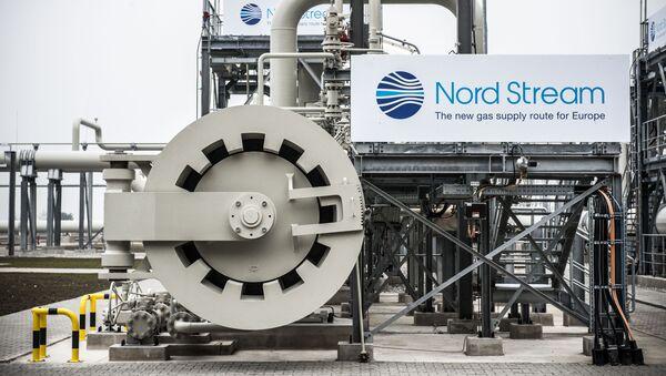 Úsek plynovodu  Severní proud v německém Lubminu - Sputnik Česká republika