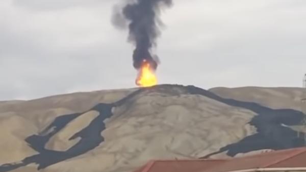 V Ázerbájdžánu se probudila druhá největší bahenní sopka světa - Sputnik Česká republika