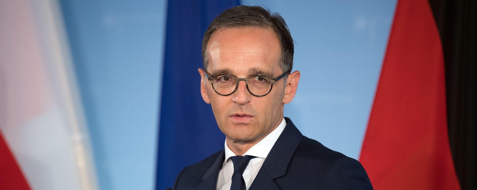 Německý ministr zahraničí Heiko Maas  - Sputnik Česká republika, 1920, 14.07.2021