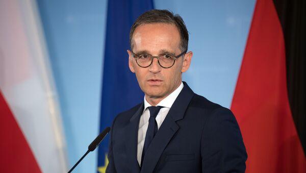 Německý ministr zahraničí Heiko Maas  - Sputnik Česká republika