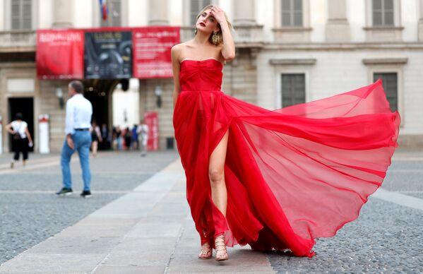 Týden módy v Miláně. Jak vidí příští sezónu klasikové a novátoři italské módy? - Sputnik Česká republika