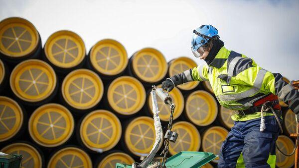 Potrubí pro Nord Stream 2 - Sputnik Česká republika