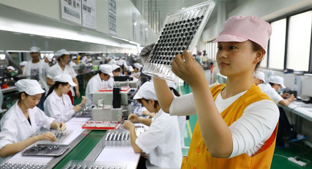 Čínská továrna na výrobu mikromotorů