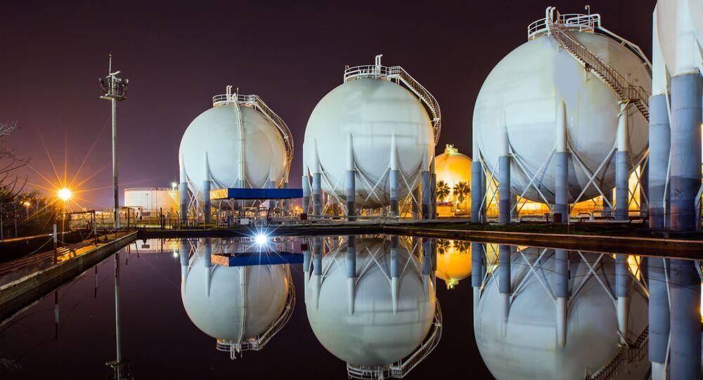 Úschovna přírodního plynu