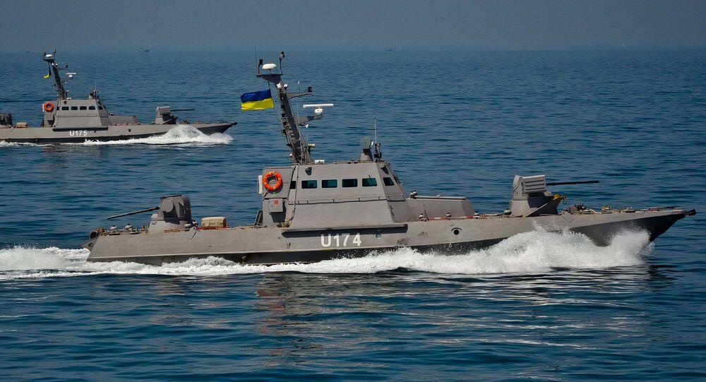 Ukrajinské čluny Berďansk a Akkerman. Ilustrační foto