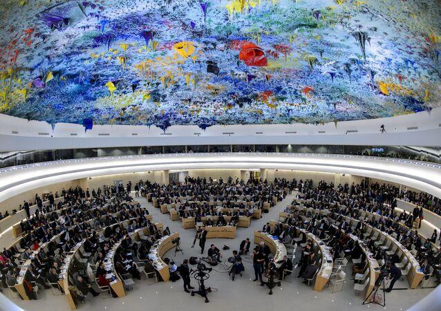Zasedání Rady pro lidská práva v OSN
