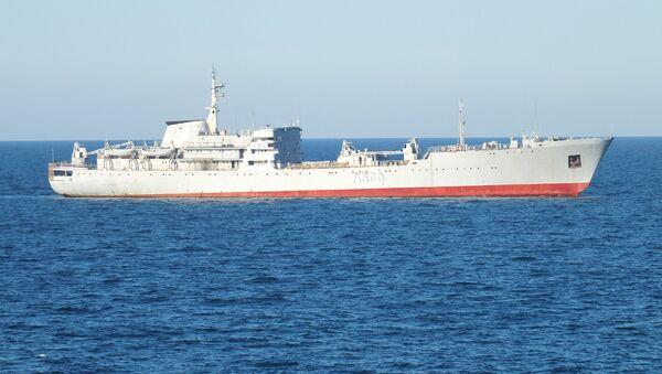 Ukrajinská loď u krymského pobřeží. Ilustrační foto - Sputnik Česká republika