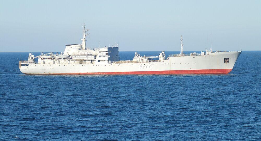 Ukrajinská loď u krymského pobřeží. Ilustrační foto