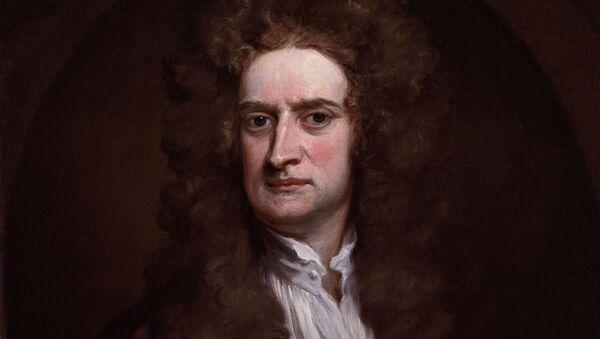 Britský fyzik, sir Isaac Newton - Sputnik Česká republika