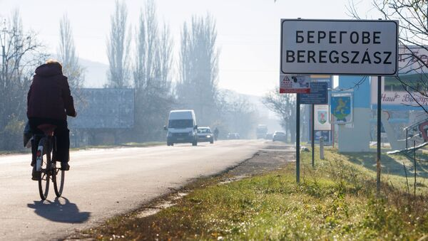 Město Berehovo - Sputnik Česká republika