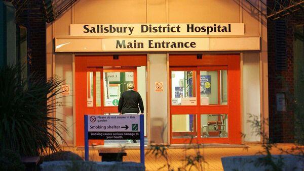 Nemocnice v Salisbury, Velká Británie - Sputnik Česká republika