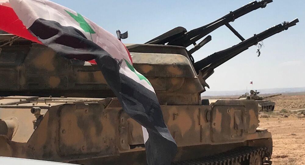 Syrsko-jordánská hranice