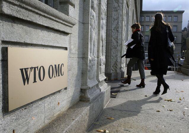 Sídlo WTO ve Švýcarsku