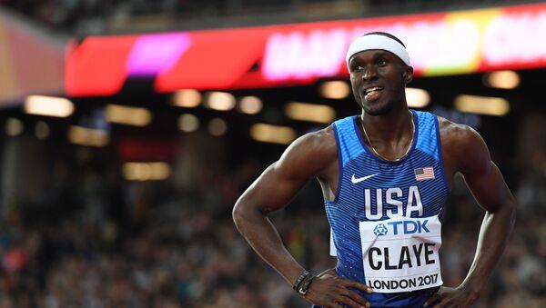 Olympijský medailista v lehké atletice William Claye - Sputnik Česká republika