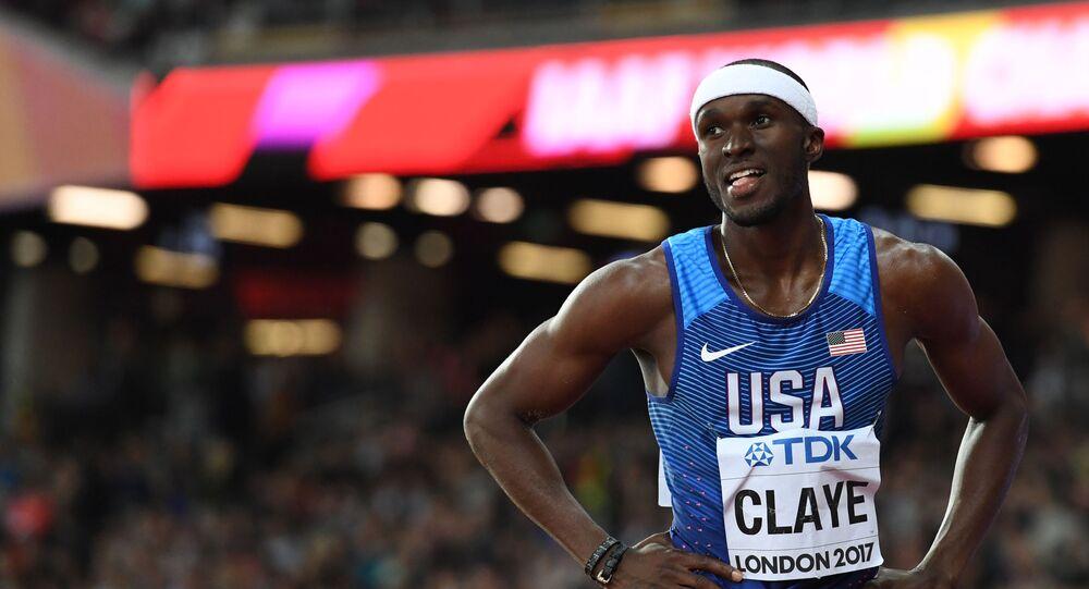 Olympijský medailista v lehké atletice William Claye
