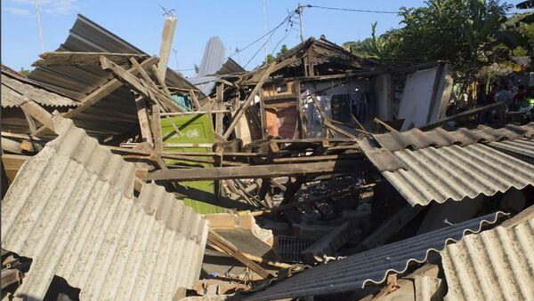 Následky zemětřesení v Indonésii - Sputnik Česká republika
