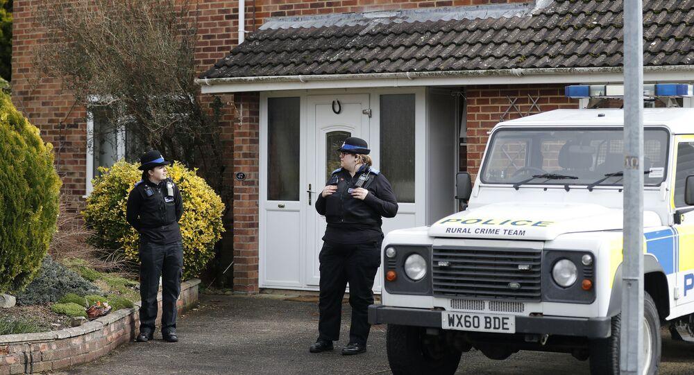 Policie Salisbury.