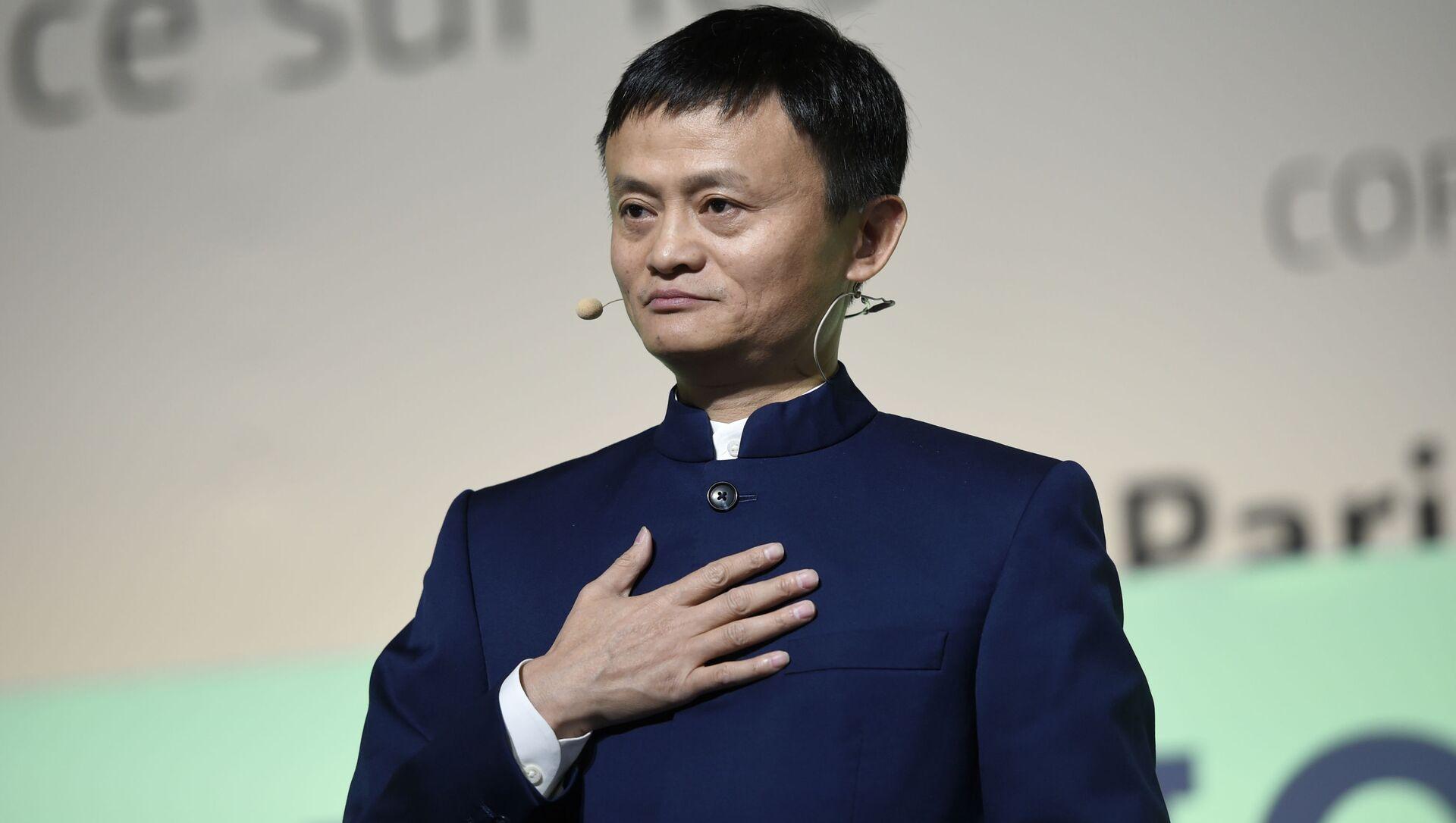 Jack Ma. Čínský podnikatel a filantrop - Sputnik Česká republika, 1920, 24.01.2019