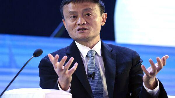 Jack Ma, zakladatel obřího kolosu v elektronickém obchodování – společnosti Alibaba Group - Sputnik Česká republika
