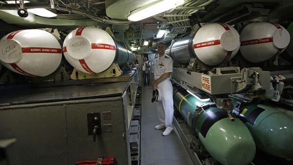 Rakety Tomahawk na palubě ponorky USS Hampton - Sputnik Česká republika