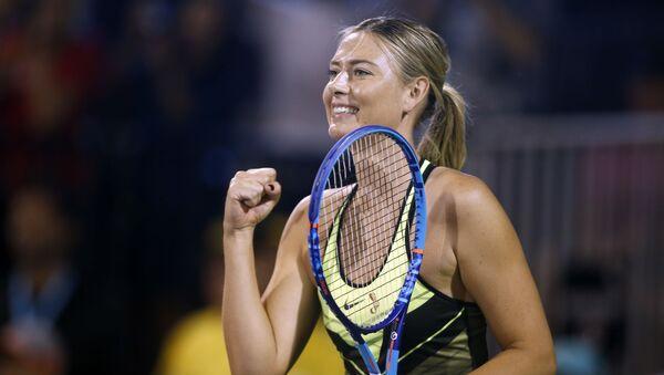 Tenistka Maria Šarapovová - Sputnik Česká republika