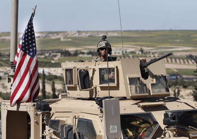 Americký voják na severu Sýrie
