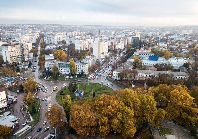 Pohled na Simferopol