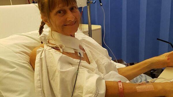 Belinda Binghamová v nemocnici - Sputnik Česká republika