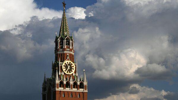 Spasská věž Kremlu v Moskvě - Sputnik Česká republika