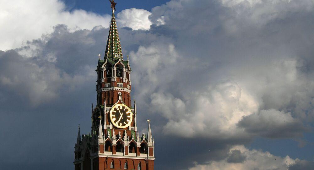 Spasská věž Kremlu v Moskvě
