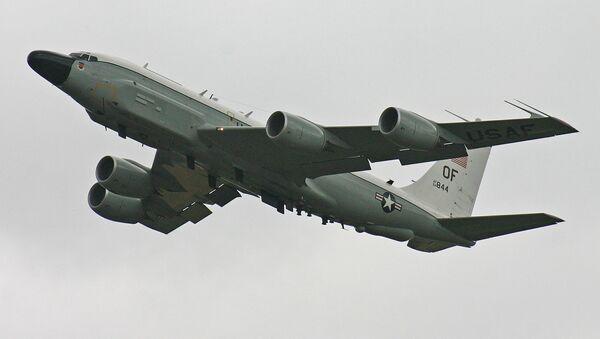 Průzkumný letoun RC-135V - Sputnik Česká republika