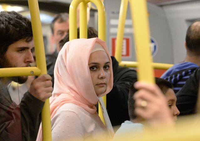 Žena v hidžábu. Ilustrační foto