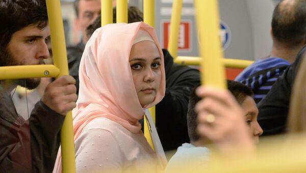 Žena v hidžábu. Ilustrační foto - Sputnik Česká republika