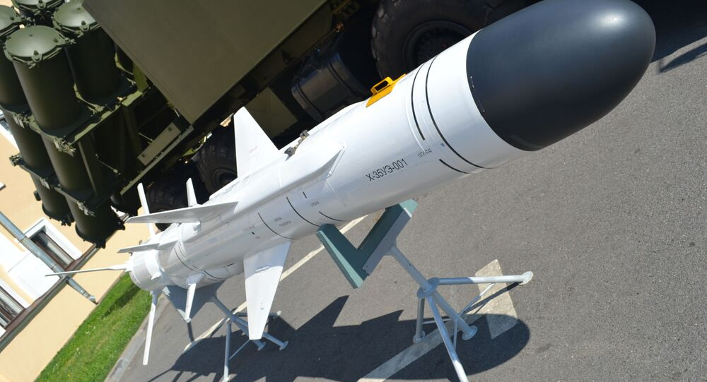 Ruská protilodní raketa Ch-35UE (3M24)