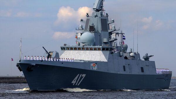 Ruská fregata Admirál Gorškov. Ilustrační foto - Sputnik Česká republika