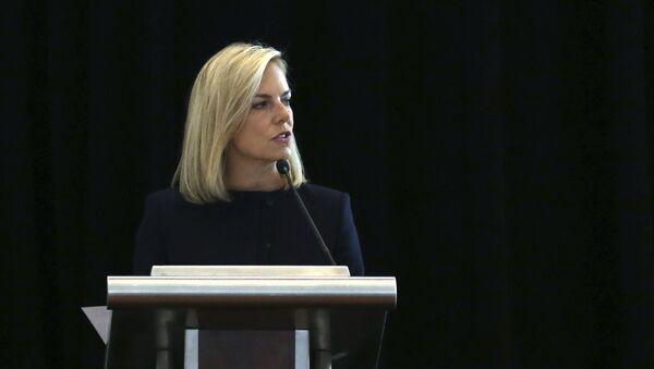 Americká ministryně pro vnitřní bezpečnost Kirstjen Nielsenová  - Sputnik Česká republika